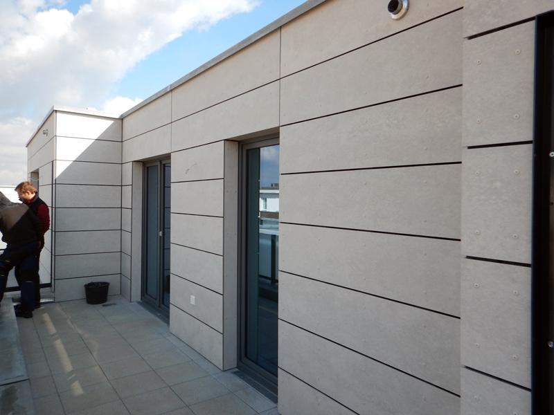 Fassaden Dachbegrunung Und Holzverblendung Dachdeckerei Ballach